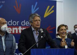 Lasso, quien asumirá el poder el próximo 24 de mayo, se impuso el domingo sobre Andrés Arauz. Foto: Vistazo Foto: API