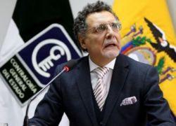 Pablo Celi, contralor general del Estado en funciones.