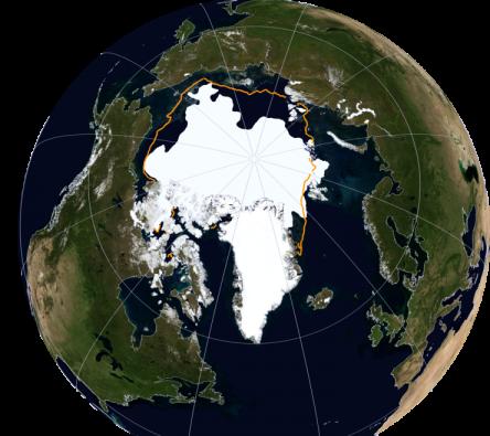 Crédito de la imagen: NSIDC/NASA Earth Observatory