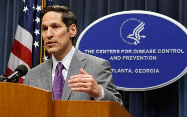 Thomas Frieden, director de los Centros de Prevención y Control de Enfermedades de EEUU. Foto: REUTERS/Tami Chappell