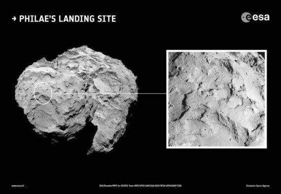 Crédito de la imagen: ESA/Rosetta/MPS for OSIRIS