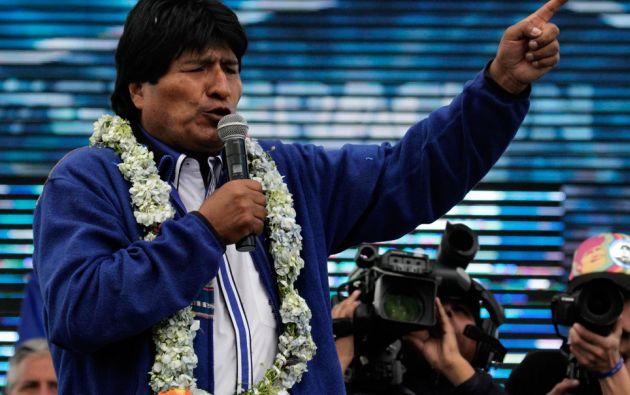 Evo Morales. Foto: REUTERS/David Mercado