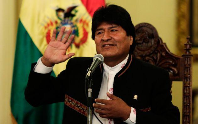 Al final de su tercer mandato, Evo Morales cumpliría 14 en el poder. Foto: REUTERS