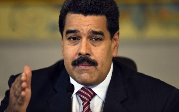 Foto: AFP/Juan Barreto. El presidente Nicolás Maduro celebró el ingreso al Consejo de Seguridad de la ONU.