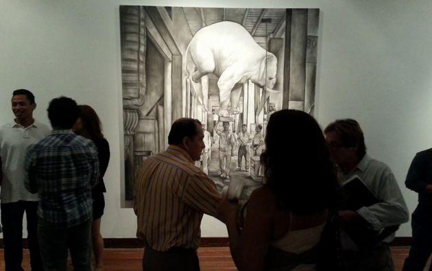 Las obras estarán expuestas en el Museo Municipal hasta el 16 de noviembre.