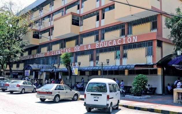 El trabajo de la Comisión también cosiste en mejorar la infraestructura de la Universidad. Foto: Archivo Vistazo