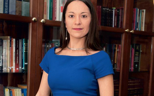 Paulina Araujo es una pasionada por el Derecho Penal. Foto: Segundo Espín