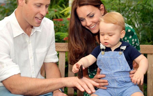 Foto: AFP/John Stillwell. Los duques anunciaron el embarazo de Kate a través de un comunicado oficial.