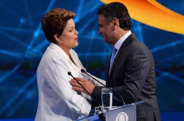 """Rousseff y Neves se acusaron de """"mentirosos"""" en un debate televisivo. Foto: REUTERS"""