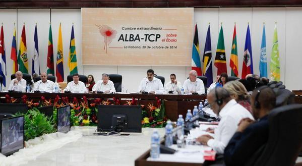 La Cumbre fue convocada por la Alianza Bolivariana para los Pueblos de América. Foto: Twitter/PresidenciaVenezuela.