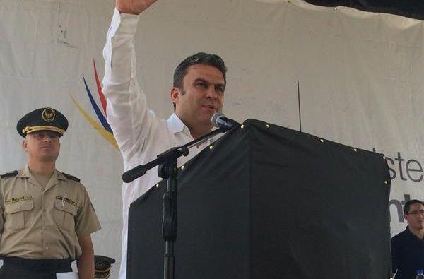El ministro José Serrano dio declaración al respecto en un canal nacional. Foto: Twitter / José Serrano
