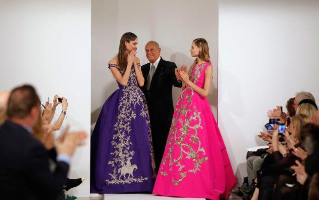 El diseñador vistió a celebridades y mujeres poderosas como Hillary Clinton y Michelle Obama. Foto: REUTERS/Lucas Jackson