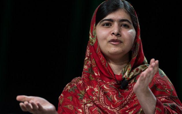 Malala Yousafzai recibirá hoy la ciudadanía. Foto: AFP / Nicholas Kamm