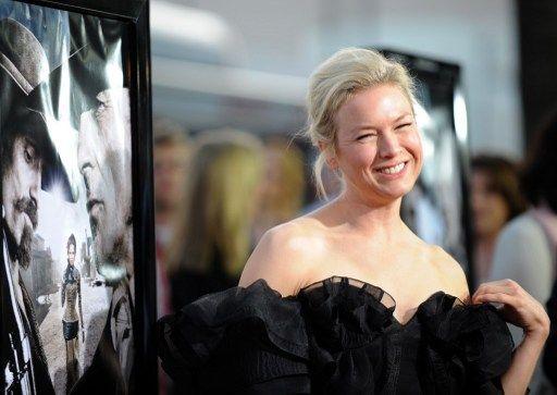 """Así lucia la actriz cuando interpretó a """"Bridget Jones"""". Foto: AFP"""