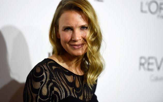 La actriz mostró su nueva imagen el lunes 20, cuando asistió a los premios Mujeres en Hollywood. Foto: AFP