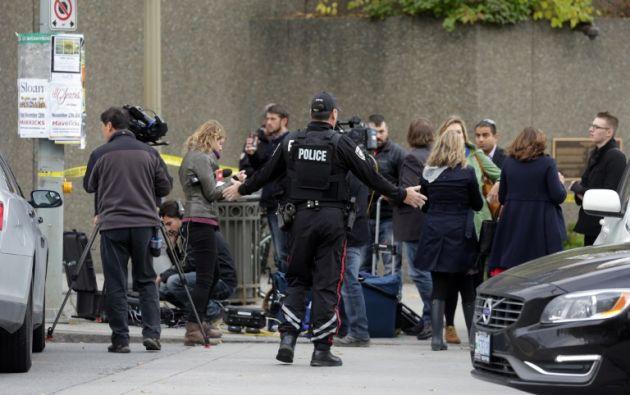 El tiroteo se dio esta mañana en el Parlamento, donde aloja a senadores y diputados. Foto: AFP