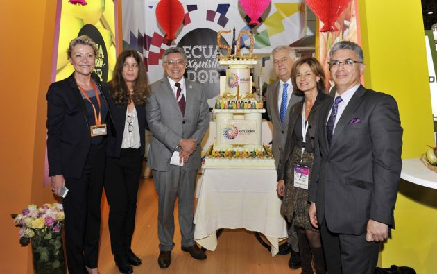 Delegación ecuatoriana en el SIAL. Foto: FLICKR/SIAL París