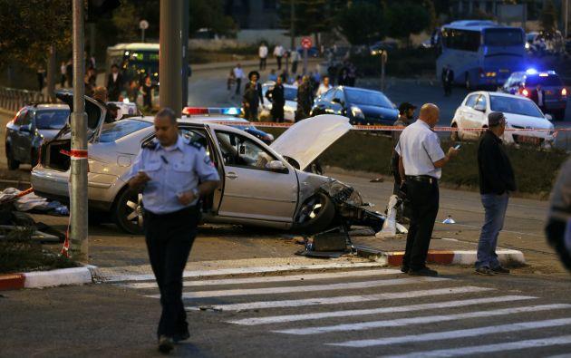 Se confirmó la muerte de un bebé y seis heridos. Foto: REUTERS/Baz Ratner