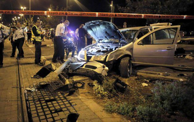 """Israel consideró el hecho como una acción """"terrorista"""". Foto: REUTERS/Ammar Awad"""