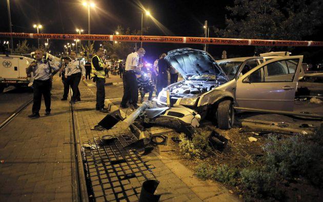 La joven fue víctima del atentado cuando un vehículo  embistió a varias personas. Foto: REUTERS/Ammar Awad