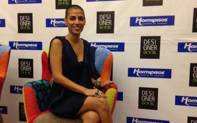 Lara Khoury tiene 29 años y es de Líbano. Su colección estará este martes en el Designer Book 2014.