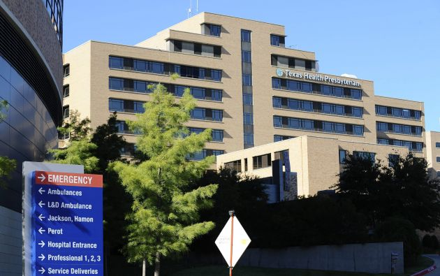 Hospital Presbiteriano donde fue confirmado que la enfermera Amber Vinson contrajo el ébola. Foto: EFE