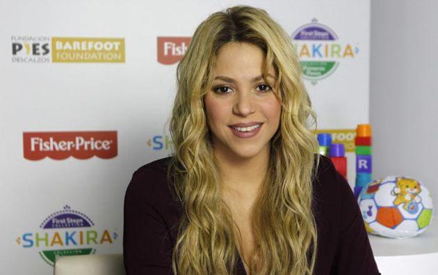 Shakira diseña ahora juguetes para niños de 0 a 18 meses. Foto: EFE
