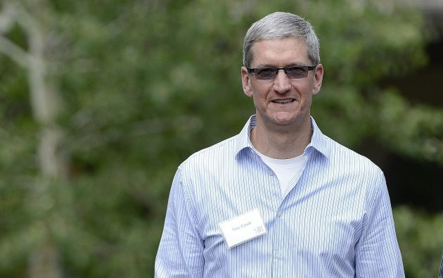 Tim Cook es el director general de Apple. Foto: EFE