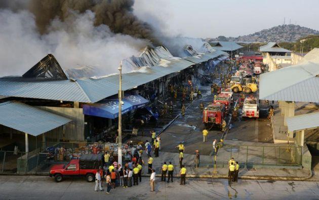 El flagelo dejó millonarias pérdidas, al menos 80 locales se vieron afectados.