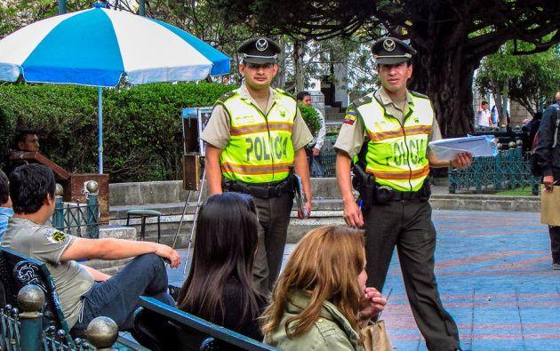 Policía Nacional estará en los lugares con mayor afluencia de la ciudad. Foto: Flickr / Ministerio del Interior