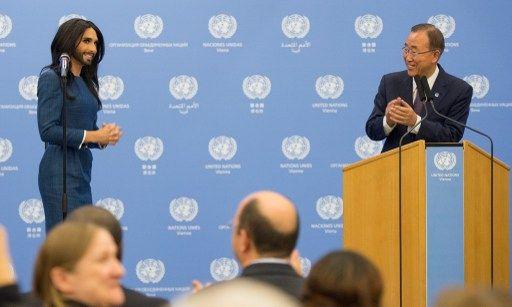 Se reunieron este lunes en Viena. Foto: AFP