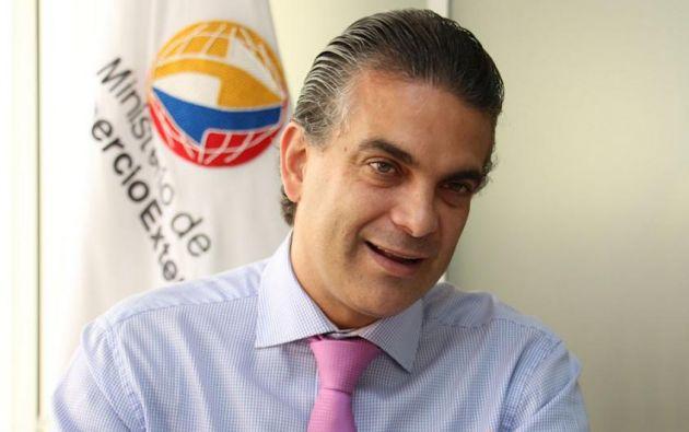 La agenda del ministro Francisco Rivadeneira concluirá<br>el viernes. Foto: Ministerio de Comercio Exterior