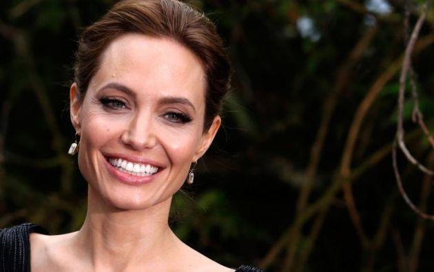 Angelina Jolie es enviada especial del ACNUR. Foto: REUTERS/Luke MacGregor