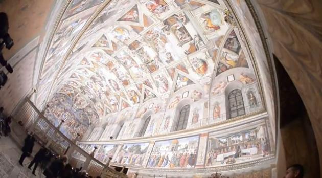 También se instaló una nueva climatización para proteger los frescos de la humedad y de los efluvios de los seis millones de visitantes.