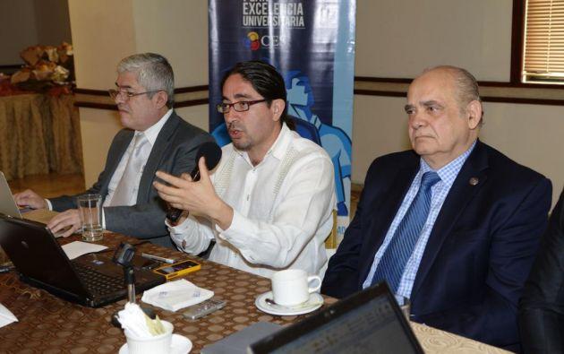 El titular de la Senescyt, René Ramírez, anunció mejoras desde su intervención, y posible asignación de más presupuesto. Fotos: API