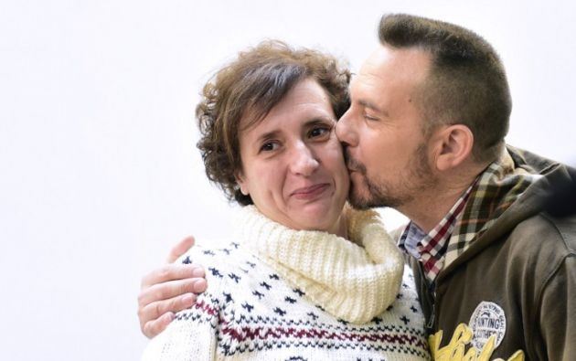 Teresa Romero, de 44 años, relató su lucha por seguir en este mundo. Foto: AFP