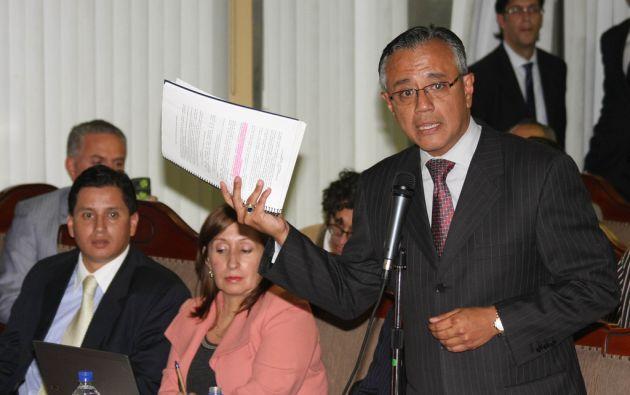 El secretario jurídico de la Presidencia, Alexis Mera, dio el anuncio esta mañana. Foto: Flickr / Presidencia del Ecuador