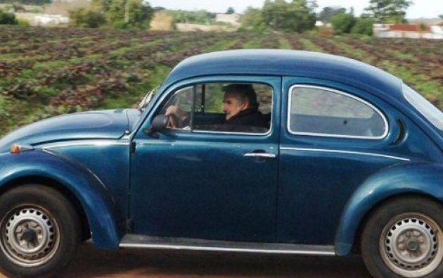 Según Mujica, el 'Fusca' del año 1987 está valorado en 70.000 pesos (USD 2.880).