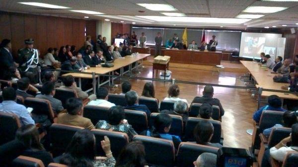 Hoy la Corte Nacional de Justicia dictó la sentencia. Foto: Twitter / Jacqueline Rodas
