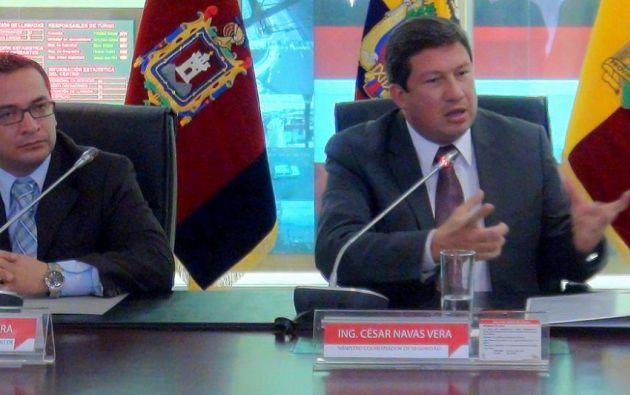 Foto: Ministerio Coordinador de Seguridad