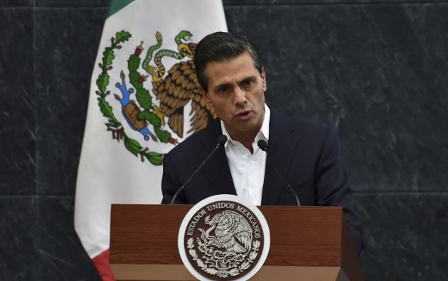 Peña Nieto tenía previsto partir el 7 de noviembre a su gira. Foto: AFP