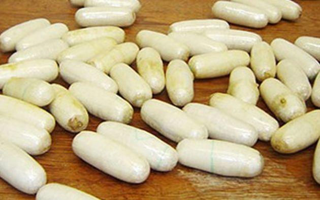 Llevaba en su interior casi 30 cápsulas de cocaína.