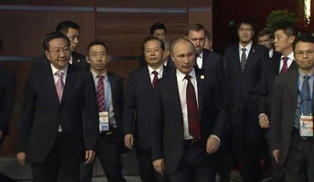 También está el jefe de Estado Ruso, Vladimir Putin, quien se reunió con Obama.