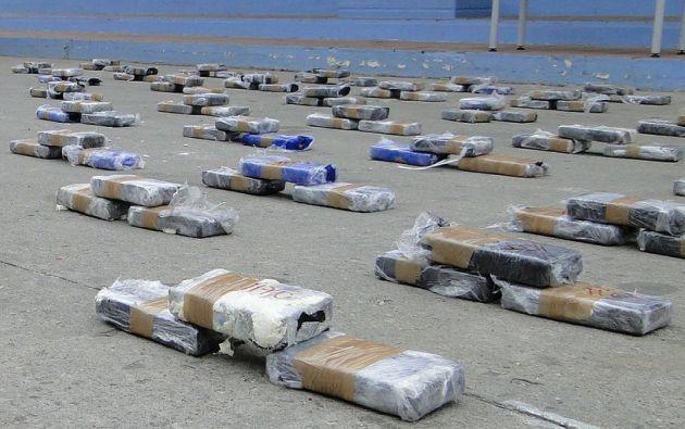 Ecuador ha decomisado 49,6 toneladas de drogas en lo que va del año.