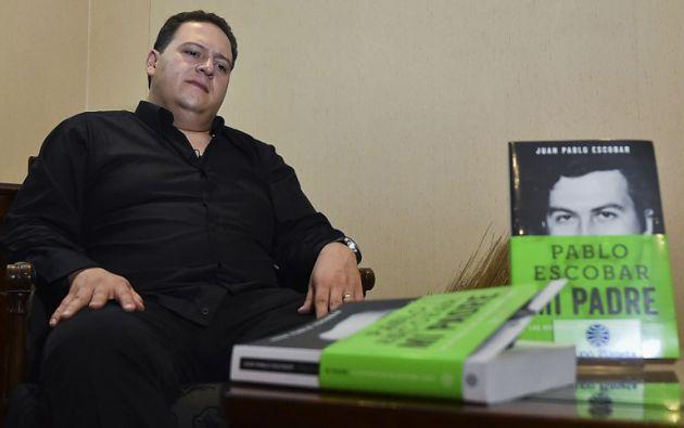 Juan Pablo Escobar Henao, conocido también como Sebastián Marroquín. Foto: AFP/Luis Acosta