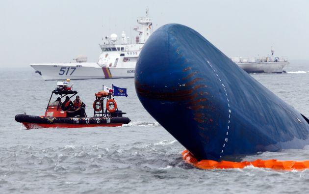 El naufragio del ferry Sewol es considerado como una de las mayores tragedias en la historia de Corea del Sur. Foto: REUTERS / Kim Kyung-Hoon