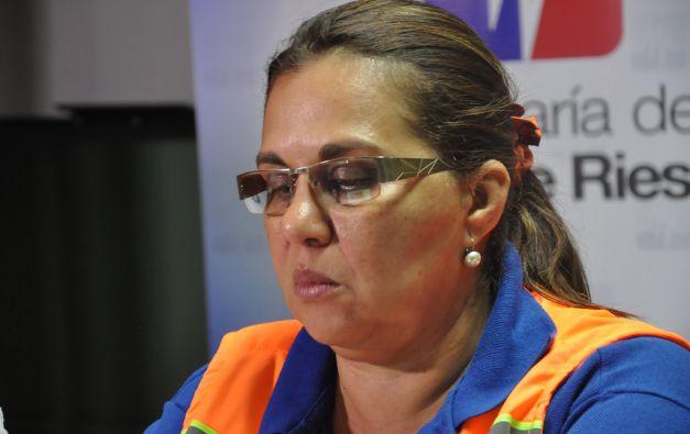 La secretaria de Gestión de Riesgos, María del Pilar Cornejo, inauguró el evento. Foto: Flickr / Secretaría de Gestión de Riesgos