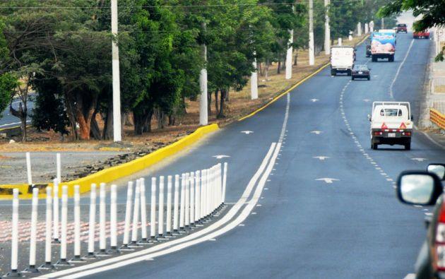 Vía a la Costa. Foto: Flickr / Ministerio de Transporte Obras Públicas