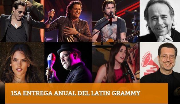 Artistas como Marc Anthony y Carlos Vives están nominados a Álbum del año.