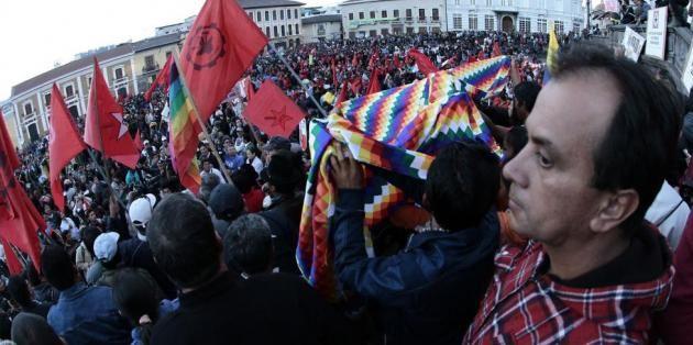 La primera marcha fue el 17 de septiembre. Foto: Archivo